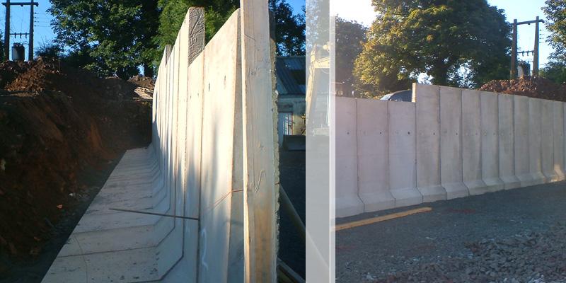 L Walls Moveable Concrete Retaining L Walls