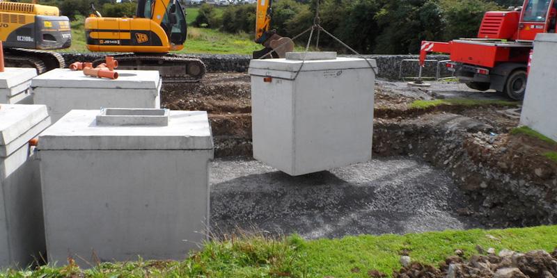 Concrete Tanks Precast Concrete Tanks