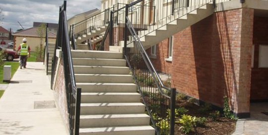 precast prestressed concrete floors walls stairs