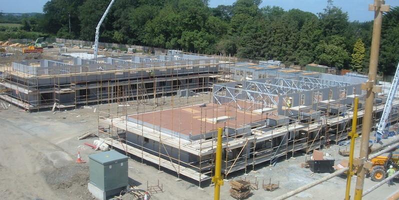 Adamstown Dublin Construction