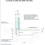 typical starter bar detail 2