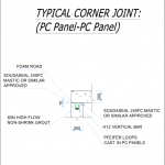 typical vertical panel joint 2